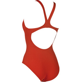 arena Solid Swim Pro One Piece Swimsuit Women red-white